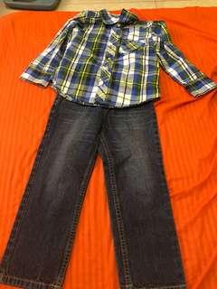 Long sleeve and Pants