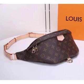 BUMBAG Monogram Waist Pouch 3301  Grade 3A MATERIAL :Artificial Leather