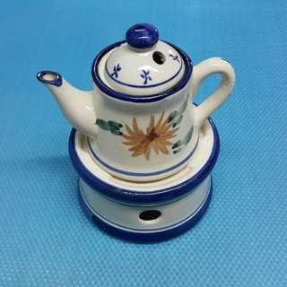 香薰 蠟燭 小 茶爐 茶壼   W-31