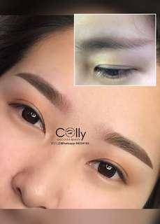 粉霧眉/3D飄眉/4D飄霧眉/美瞳線/水晶唇/童顔髪際線