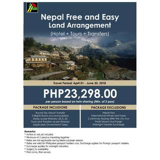 Nepal Free and Easy Land Arrangement