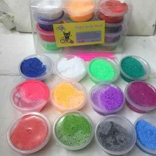 Foam Slime Set 12