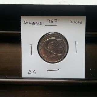 20 C./1967/Singapore.