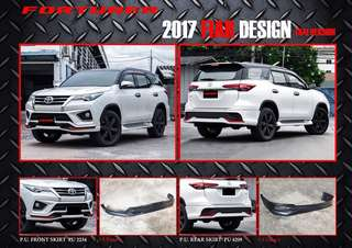 Fortuner FIAR design bodykit