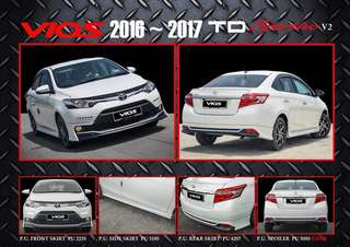 Vios 2014 onwards TRD sportivo & GX bodykit