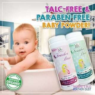 Feather Dust Organic Baby Powder