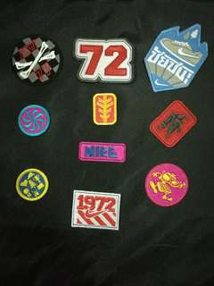 Authentic Nike LE embroidery patches