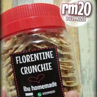 biskut florentine crunchie