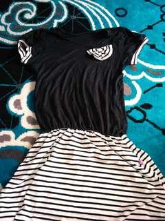 Mini dress size m