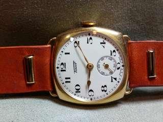 30年代18K天梭錶
