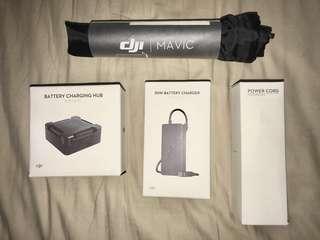 DJI Mavic Battery Charging Hub + Charger + Power Cord 叉電套裝