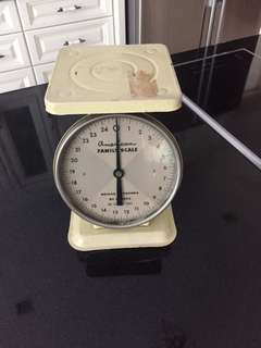 Antique weighing scale