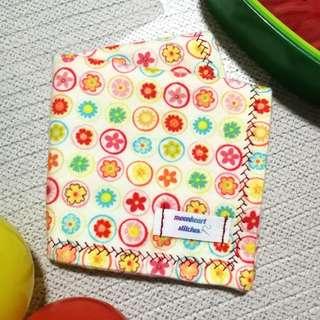 "Handmade Reusable and Washable Flannel Handkerchiefs (7"")"