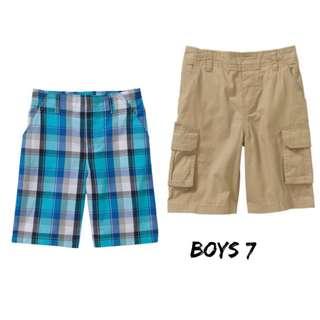 NWT Boys Garanimals shorts sz7