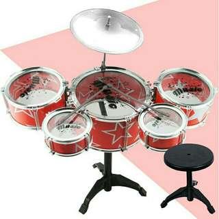 ( 5 Pieces ) Kids Drum Set