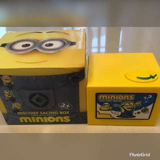 Piggy Bank-Minions(Battery-operated)
