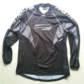 FirstRacing Jersey-Black/Grey L