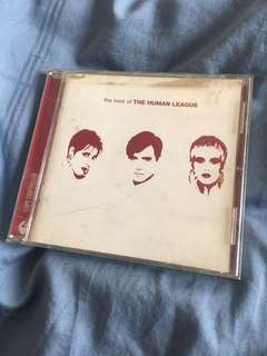 The Best of Human League CD