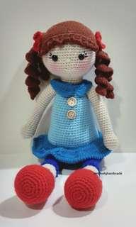 Crochet Marina Doll / Amigurumi