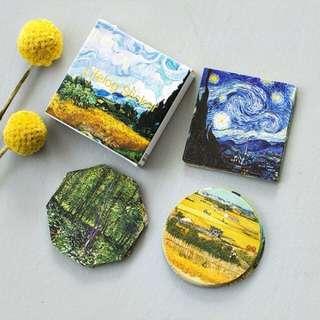 Van Gogh lifelog stickers