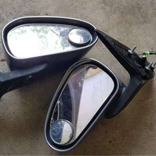 Side Mirror + 1 left side  front lamp Original Gen2