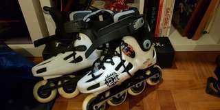 White Radius Inline Skates