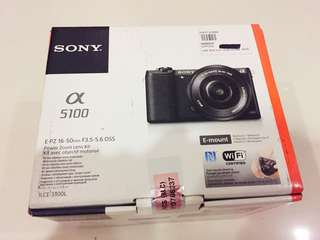 Brand New White Sony A5100 (Unopened Box)