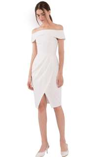 Doublewoot Off Shoulder White Dress