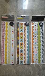 all set - Chip board borders for scrapbooking