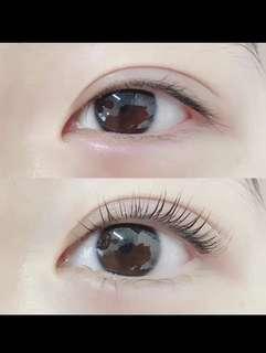 韓國角蛋翹睫术,温和不傷皮膚,定型滋潤眼睫毛,有效三個月 👍🏻