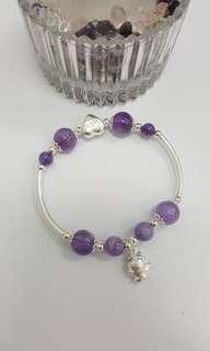Amethsyt design bracelet