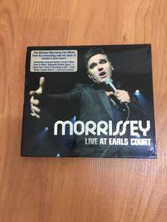 Morrissey Live at Earls Court CD