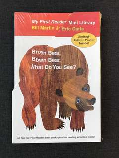 Four Books My First Reader by Bill Martin and Eric Carle