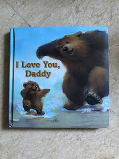I Love You Daddy Board Book