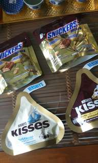 Hershey's Kisses & Snickers Mini