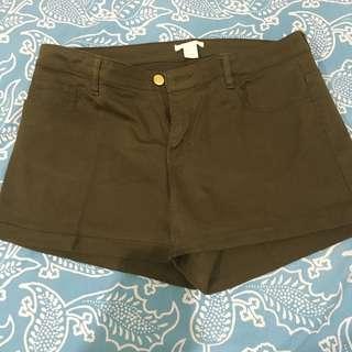 H&M ultra stretch shorts