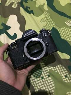 Kamera Analog SLR Nikon FM2 Black (Body Only)