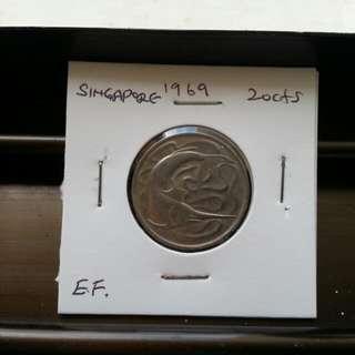 20c/1969/Singapore.