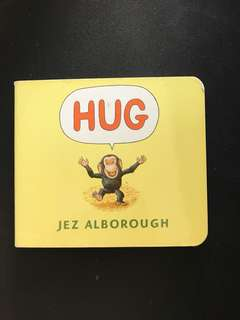 HUG by Jez Alborough Board Book
