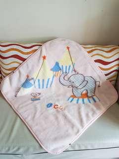 麗嬰房長毛毛毯