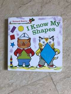 I know my Shapes Board Book by Richard Scarry
