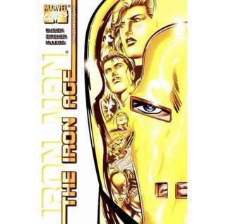 IRON MAN: THE IRON AGE#1-2 (1998) Mini-series complete set