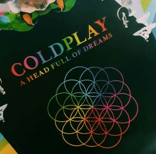 COLDPLAY POSTER FROM KOREA