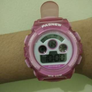 Jam tangan pink