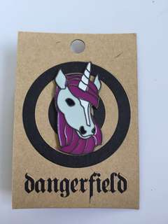 Dangerfield unicorn pin