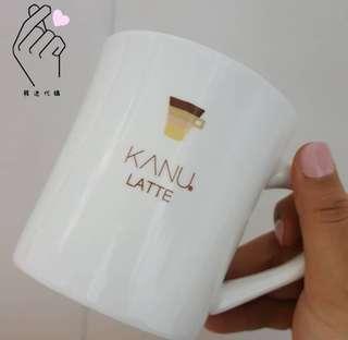 MAXIM KANU Latte 孔劉咖啡杯