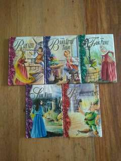Grimm's Storytime Library 5 books