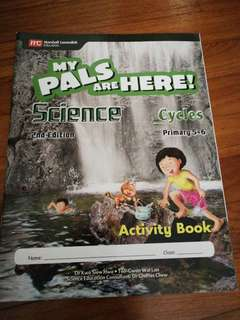 Primary 5 & 6 My Pals Are Here! Science Workbook Cycles