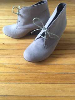 Call It Spring- Spring Wedge Shoe; Size 38