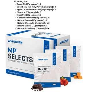 Myprotein Sample Box